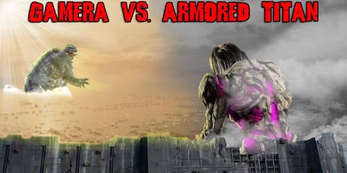 KWC - Gamera vs. Armored Titan