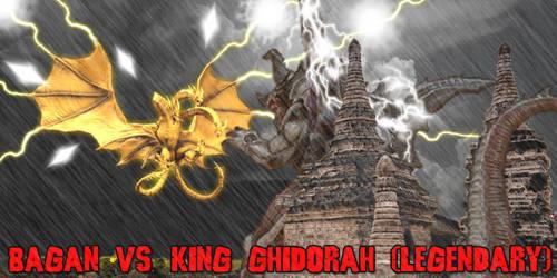 KWC - Bagan vs. King Ghidorah (Legendary)