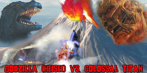 KWC - Godzilla (Heisei) vs. Colossal Titan