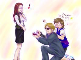 -ZTs- ganbatte ne, yamaki-san by digistardbz