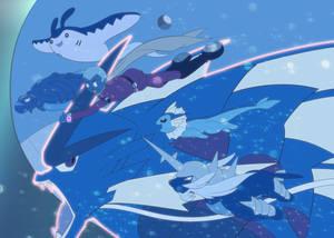 [009xPKMN] Swift Swim