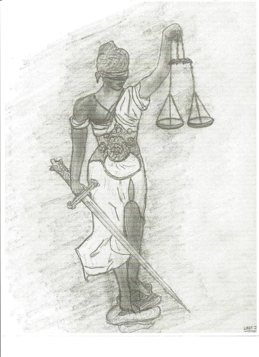 Lady Justice by semituf1 on DeviantArt