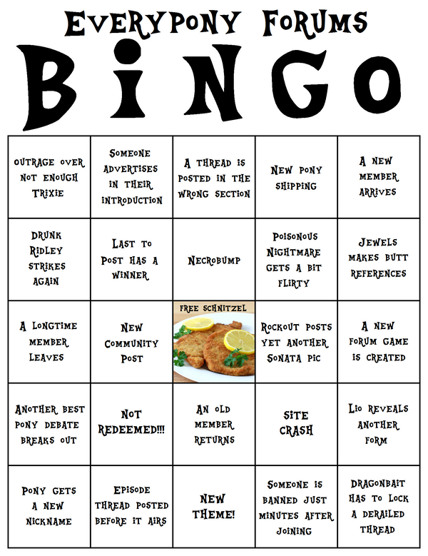 Forum Bingo