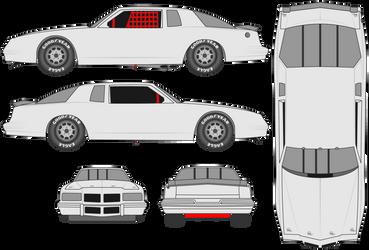 1986-1987 Pontiac Grand Prix 2+2