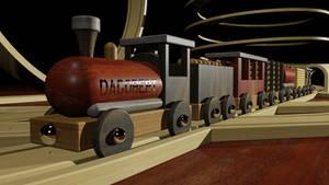 Holzeisenbahn 01