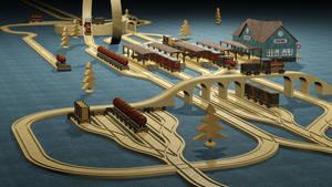 Holzeisenbahn 03
