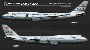 Boeing 747-8i PanAm ~1940