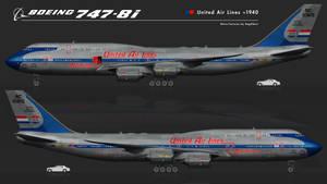 Boeing 747-8i United ~1940