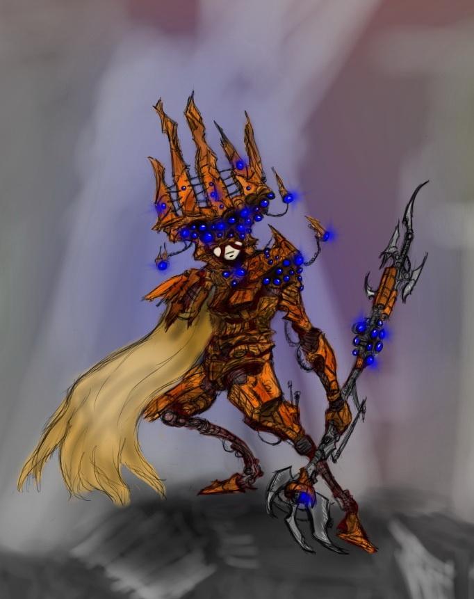 Cyborg Gods - Trelliah by HJTHX1138