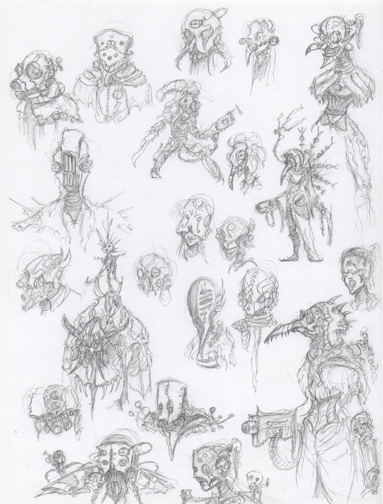 Vurian Assassin Cultists 2 by HJTHX1138