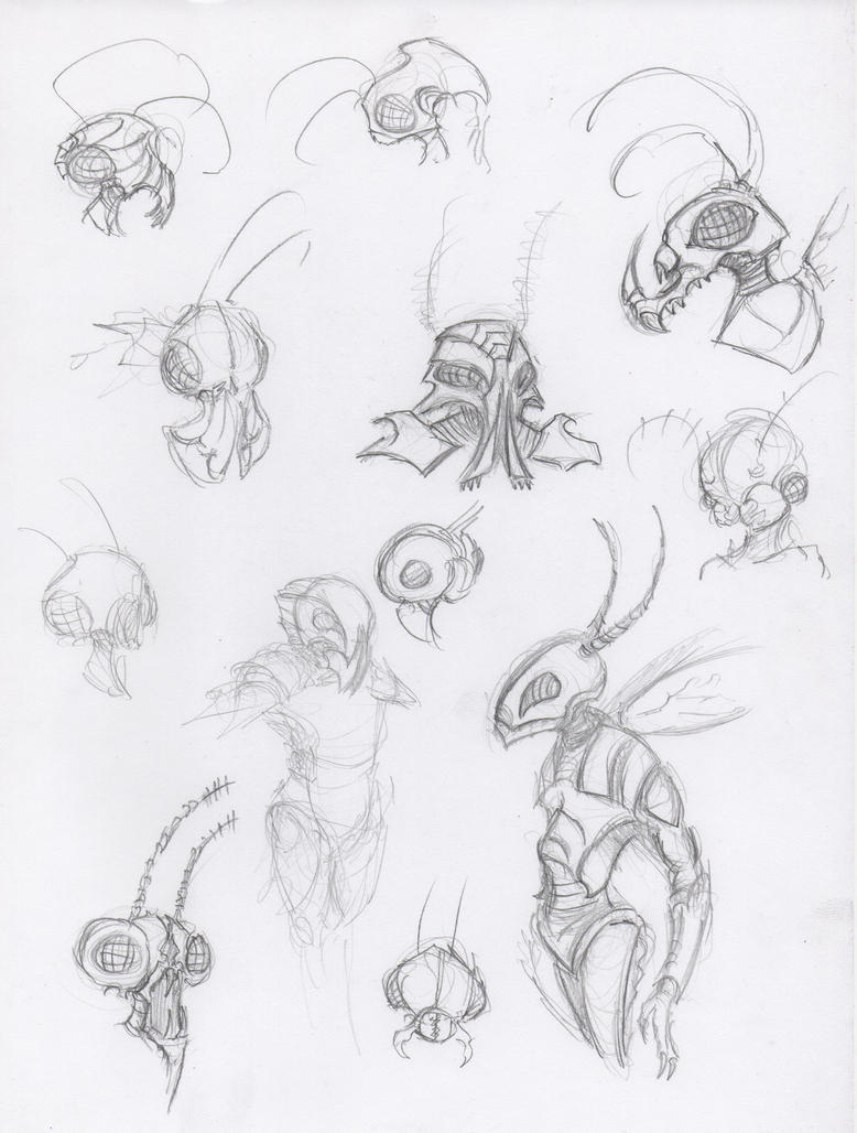 Insectoids by HJTHX1138