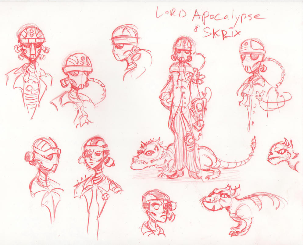 Cities of Lead - Lord Apocalypse by HJTHX1138