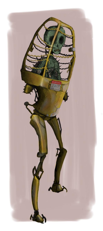 Zombie Psychic Commander by HJTHX1138