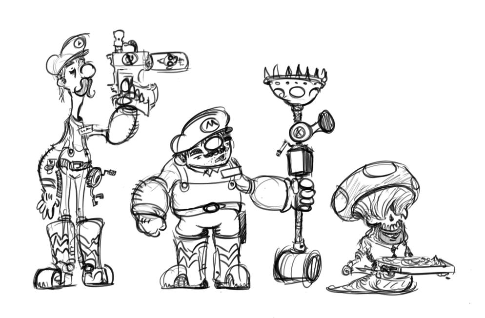 Ey Mario by HJTHX1138