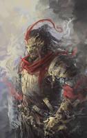Samurai w/ Mask! by JasonTN