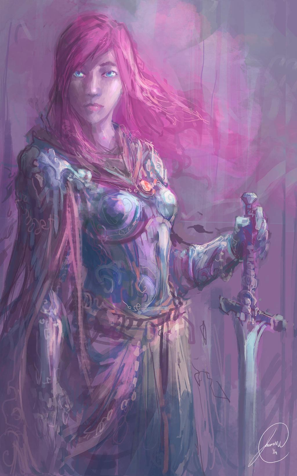 Galeria de Arte: Ficção & Fantasia 1 - Página 4 Pink_by_nosaj7541-d70muz1