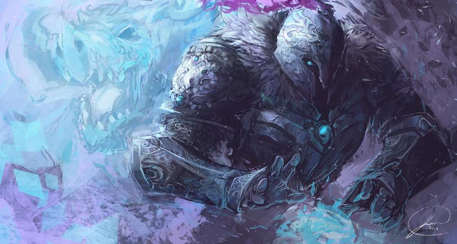 Ice Knight by JasonTN