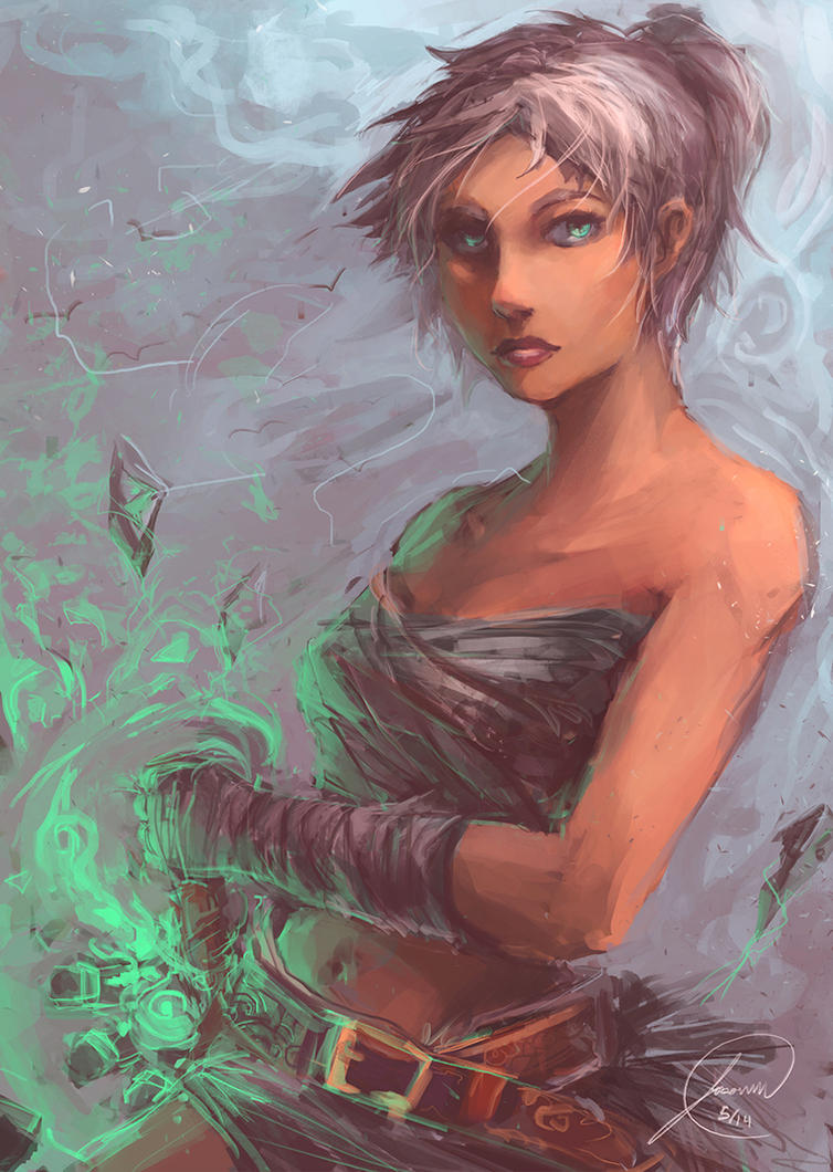 Riven fan art by JasonTN