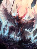 Angel Knight by JasonTN