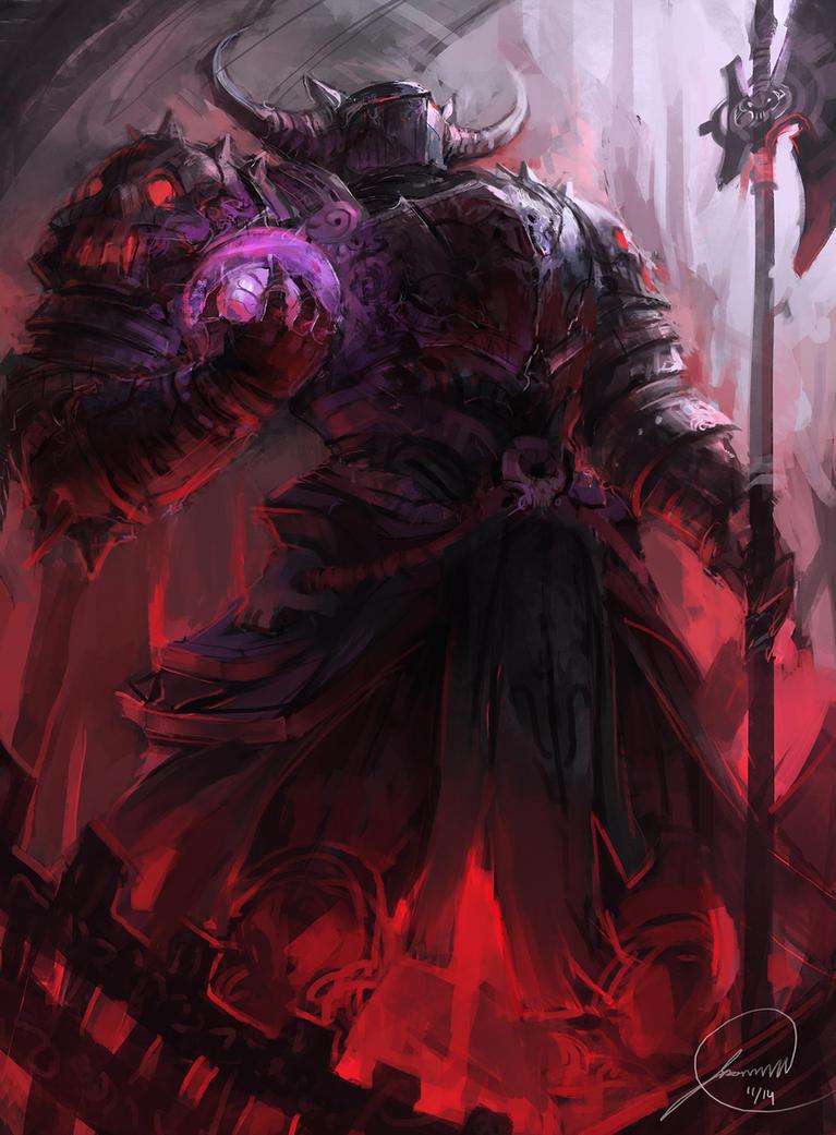 Hades by JasonTN on De... Zeus Digital Painting