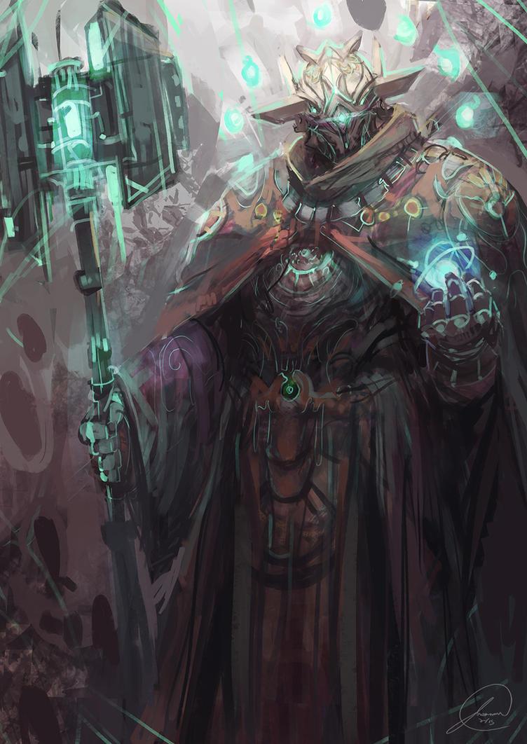 Space Knight by JasonTN