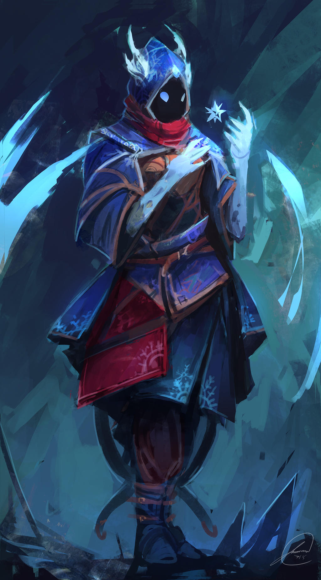 ice mage concept by jasontn on deviantart