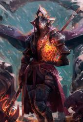 Fiery Knight by JasonTN