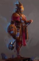 Mystical Knight by JasonTN