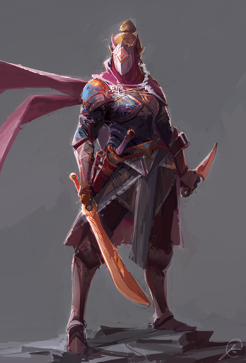 Assassin Concept 2 by JasonTN