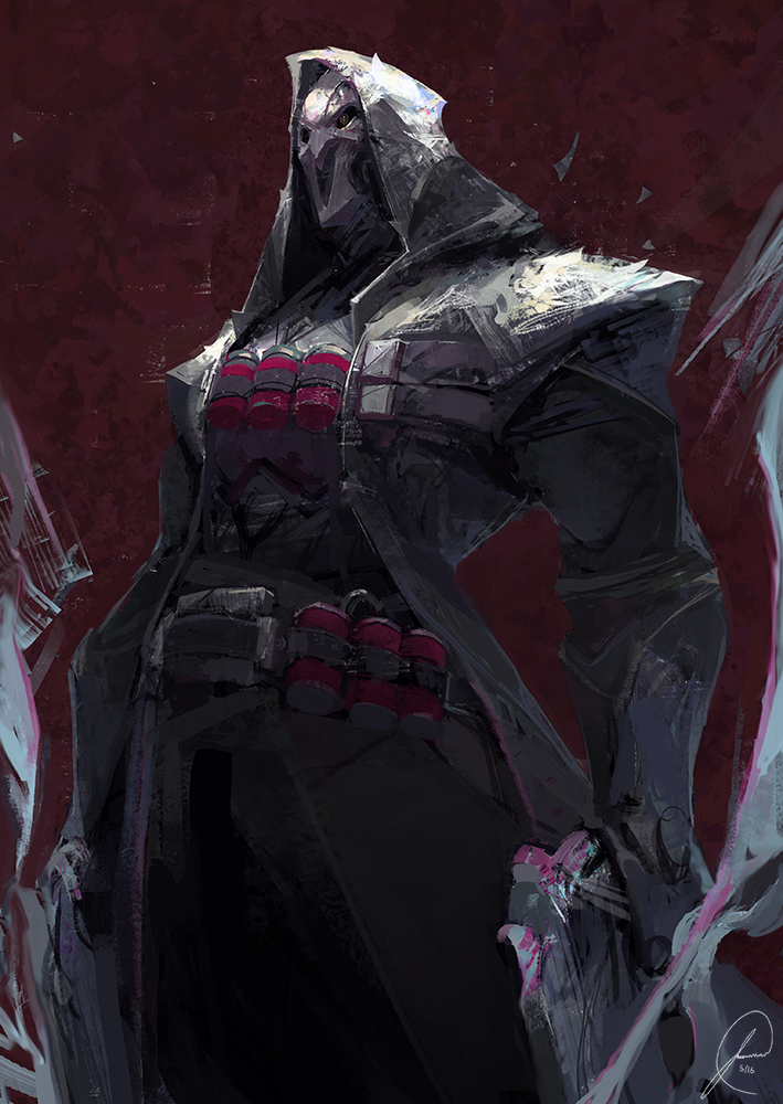 Overwatch Reaper Fan Art By Jasontn On Deviantart