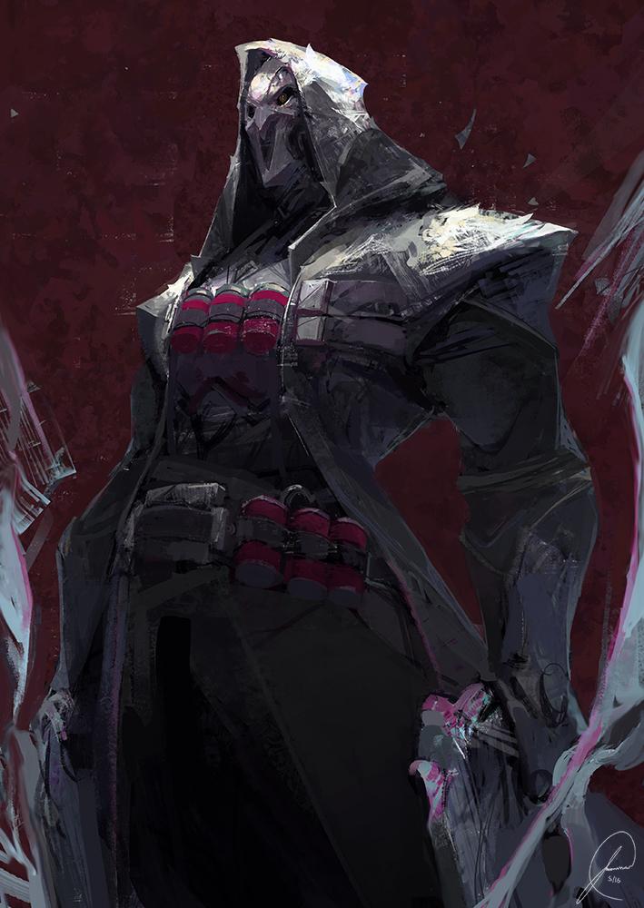 Overwatch Reaper Fan art