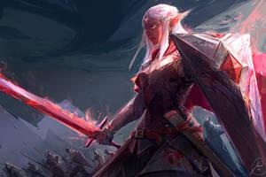 Elf Knight by JasonTN