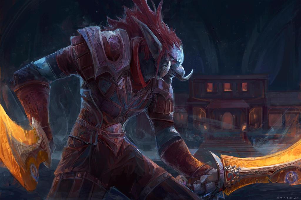 Rogue - World of Warcraft by JasonTN