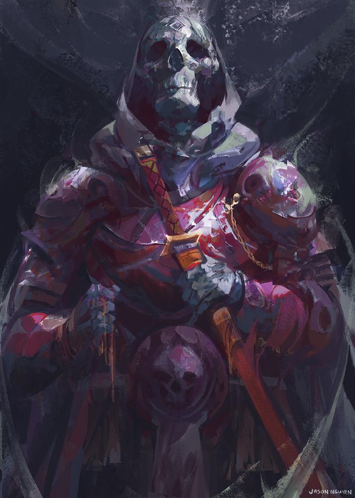 Skeleton Warrior by JasonTN