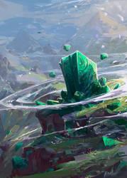Stone Bound Saga Art by JasonTN