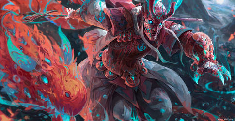 Fire Mystic by JasonTN