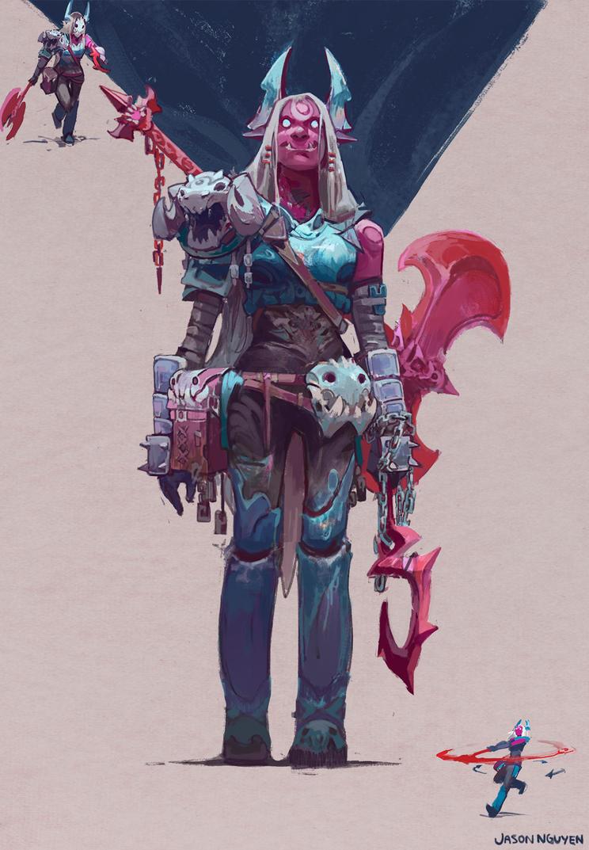 Warrior by JasonTN