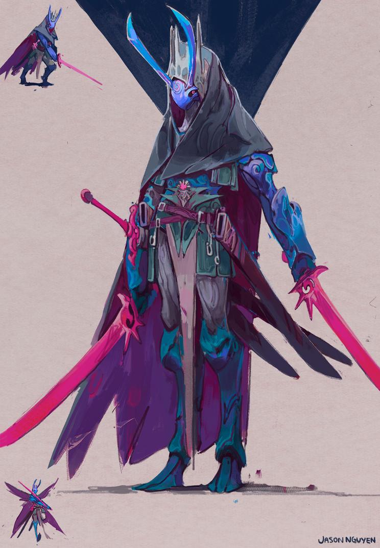 Swordsman by JasonTN