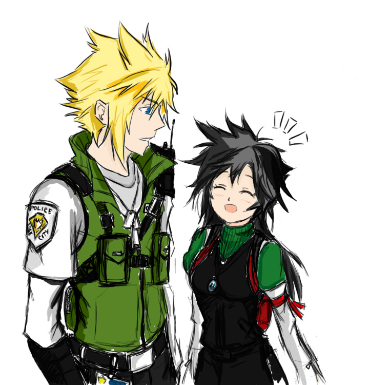 Officer Cloud Strife And Also By Maniac Kagesenshi On Deviantart