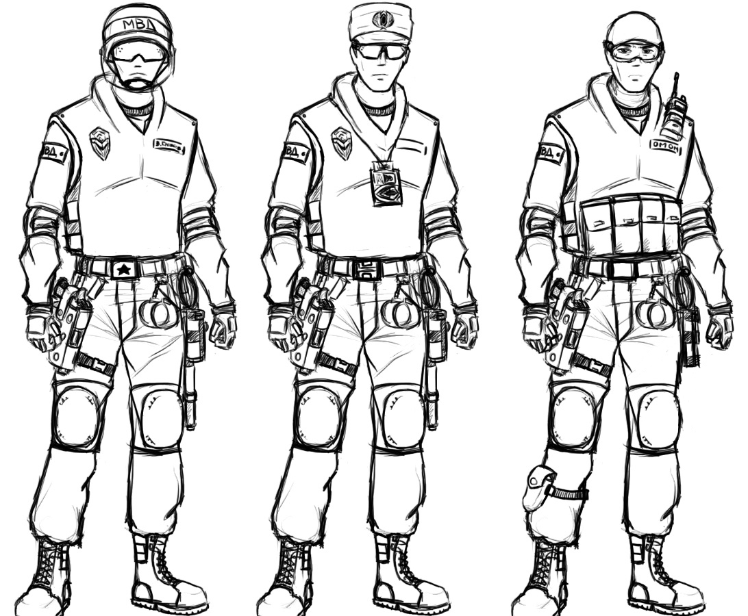 Police the good guys by maniac kagesenshi on deviantart for Swat team coloring pages