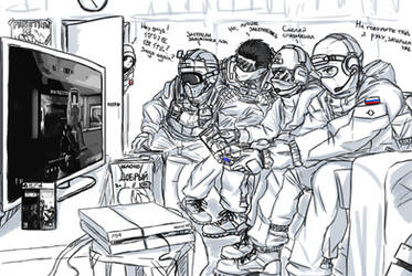R6 Gaming: Tachanka and Friends by Maniac-KageSenshi