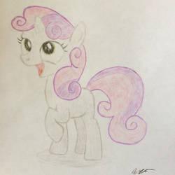 Sweetie Belle Sketch
