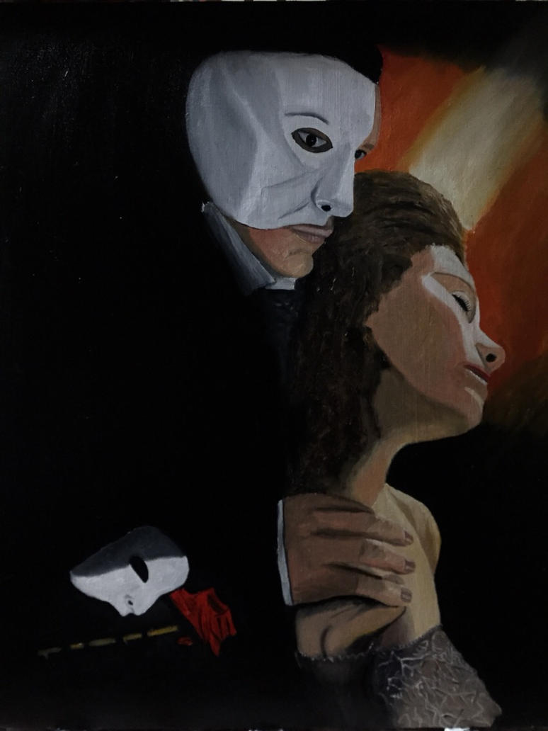 Phantom of the Opera by VasiliZ
