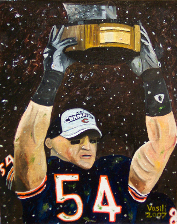 Brian Urlacher by VasiliZ on DeviantArt