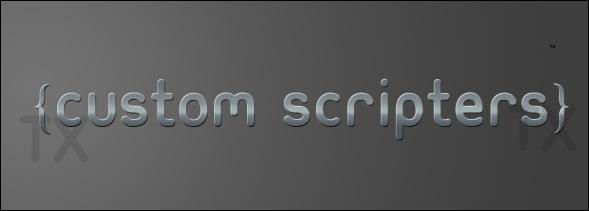 Custom Scripters by BaranOrnarli