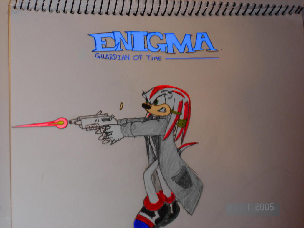 Enigma the Echidna by Enigmatic-Andy
