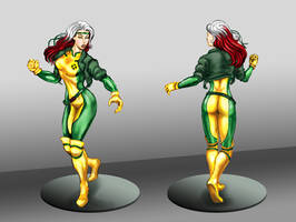 Rogue sculpture concept - improved version by rodstella