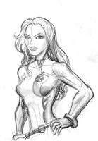 Rogue sketch by rodstella