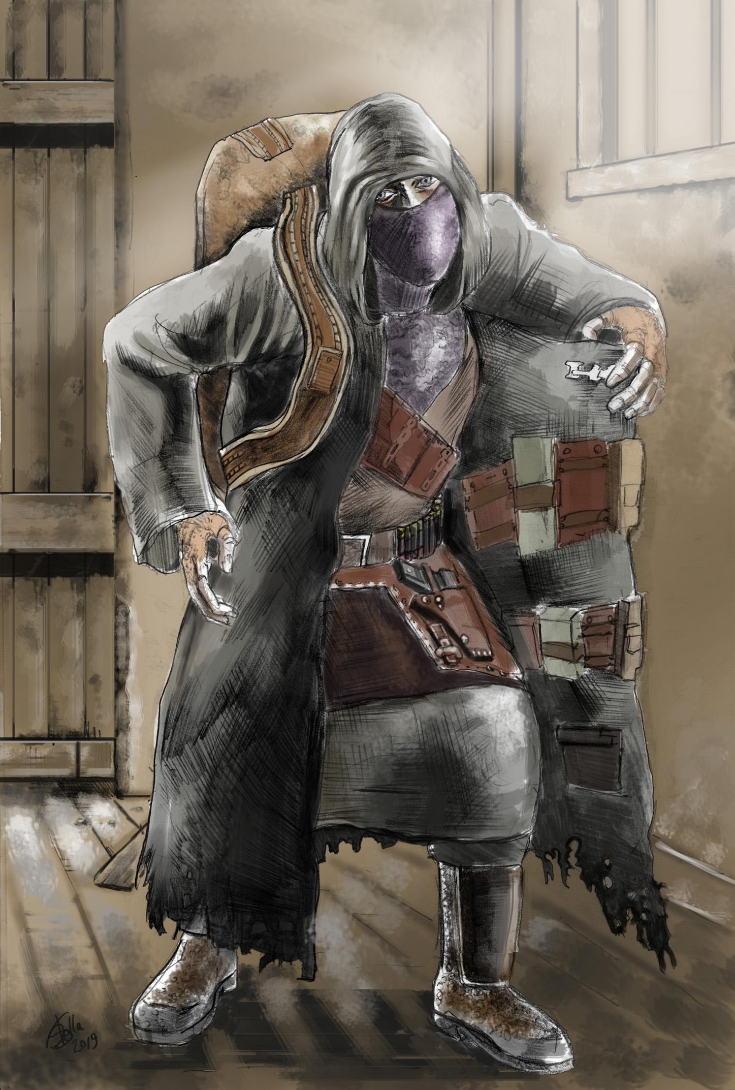 Resident Evil Merchant By Rodstella On Deviantart