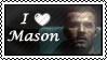 I love AMason stamp by Coley-sXe